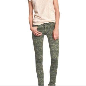 Rag & Bone Camo Skinny Jeans Size 24
